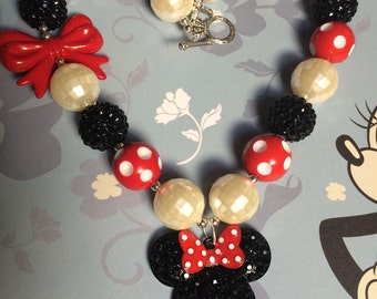 Classic Minnie Mouse Necklace