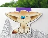 Fennec Fox Magnetic Bookmark