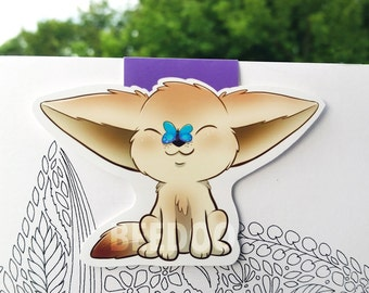 Fennec Fox Magnetic Bookmark