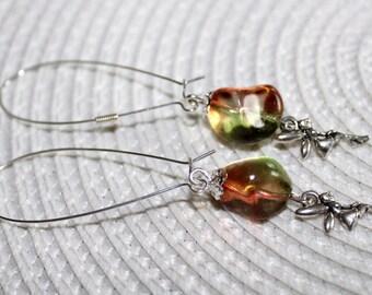 Elfenglück- Ohrringe mit kleiner Elfe und großer Perle