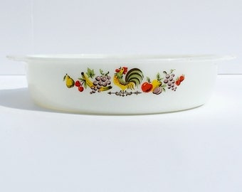 Rooster Casserole Dish