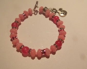 Hand made one of a kind Bracelet w/ Tourmaline