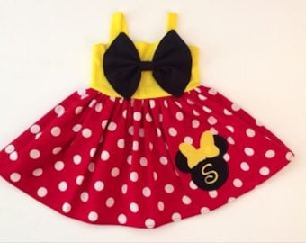 Minnie Mouse Halter Dress