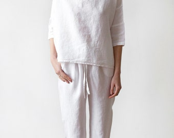 Luxury Linen Pajamas