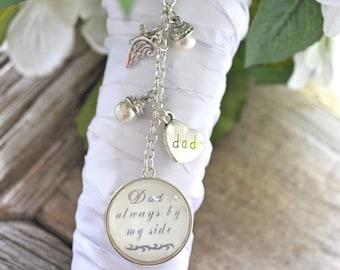 Wedding Bouquet Charm, Bridal Bouquet Memorial Charm, Bouquet Photo Pendant, Bridal Gift, Gift For Bride, Bridal Bouquet Charm