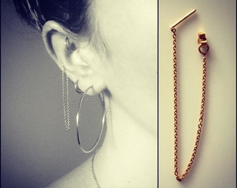 Chain Earring Single