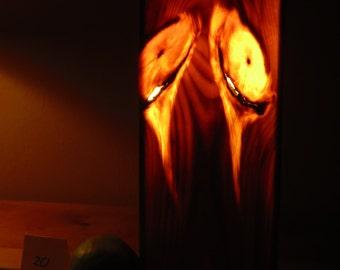 Timberlight #20, all natural warm ambiance lamp