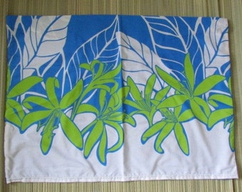"Hawaiian print monitor dust cover for the 27"" iMac and other computers,  show your aloha!"