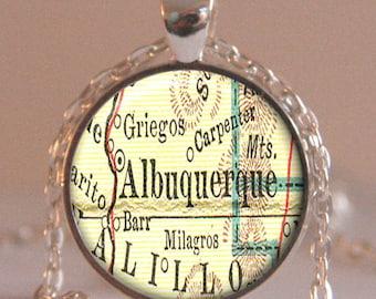 Albuquerque pendant etsy for Custom jewelry albuquerque new mexico
