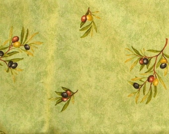 Olive pattern light green furnishing fabric, strong weave cushion fabric, bag fabric, curtain fabric, home decoration fabric,