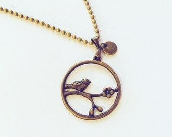 Chain Bird on branch