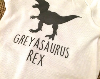 Custom Dinosaur T-shirt  - Infant, Toddler, Youth, Kids Sizes Available!