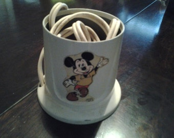 Mickey mouse baby bottle warmer 60s - 70s