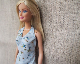 Evening Dress and Bracelet/ Combo of Barbie dress and Bracelet/ Barbie Clothes/ Barbie Accessory