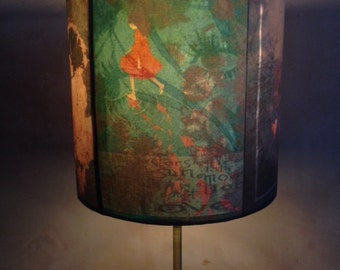 Urban Fairytale Inspired Lamp shade 'Puddlefish'