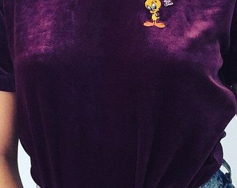 Tweety shirt purple