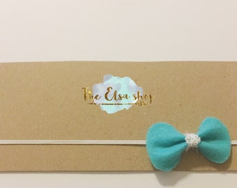 Fashionable Felt bow headbands, Headbands for adults and children,