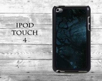 Mystical forrest Dark magic - iPod Touch 4G case - Night trees mythical phone iPod Touch case,  iPod cover