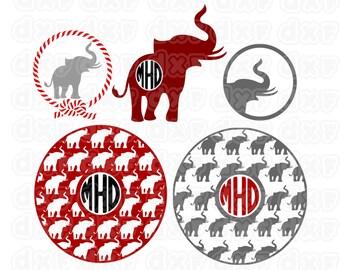 Alabama Crimson Tide ,Alabama svg,crimson svg,roll tide svg,football svg,logo,dxf,vector Collage SVG Design silhoutte studio