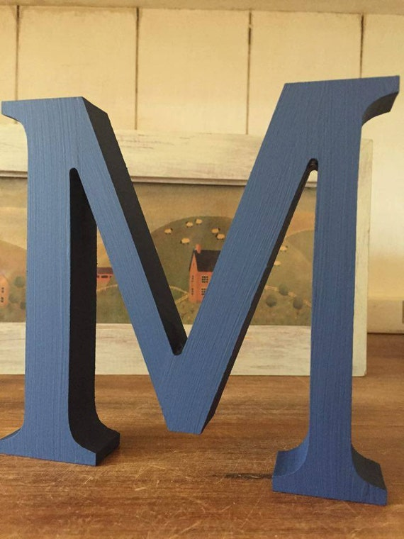 A z 26 pack colour wooden letters a z free standing for Standing wood letters to paint