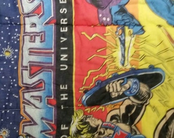 Master of the Universe sleeping bag from 1983