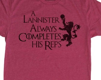 Mens Game of Thrones Lannister Shirt