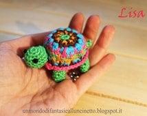 Turtle crocheted