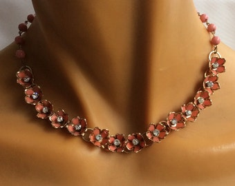 Vintage 1950 necklace and earring