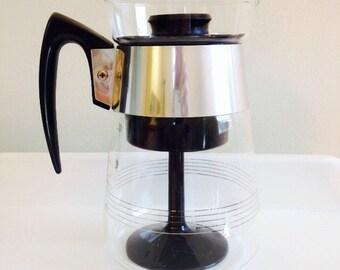 Modern Glass Coffee Maker : Glass coffee carafe Etsy
