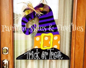 Witch Hat Door Hanger