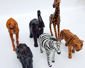 Menagerie of Leather Animals
