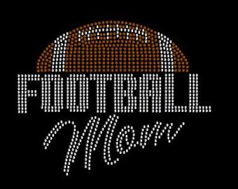 Football Mom Rhinestone T-Shirt