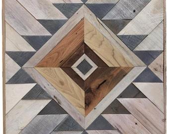 Tribal Coffee Table Reclaimed Wood