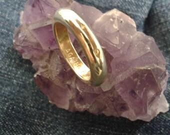 Vintage Silver Gilt Ring by Agatha Paris