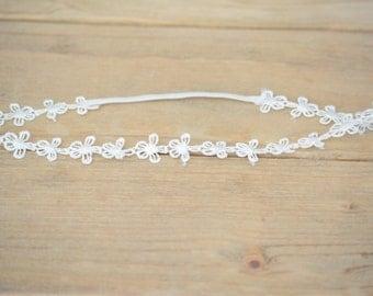 Daisy Thin Headband - Daisy Headband - Thin headband - Thin Baby Headbands - Flower Headband - Headband