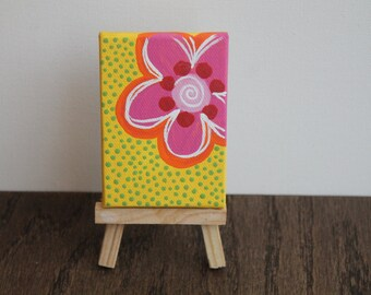 Miniature Painting with Easel