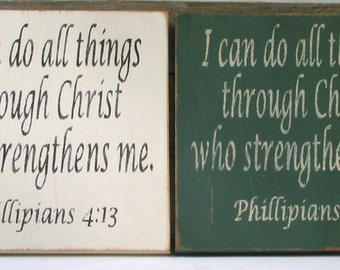 Phillipians 4:13 I Can Do All Things