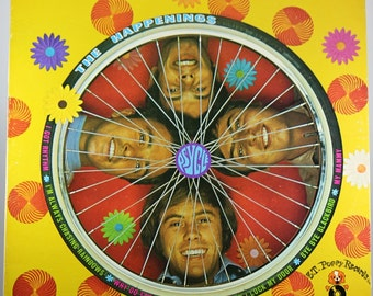 Happenings Psycle, 1967, Canadian Press, Sunshine Pop, Light Psych, Vintage Vinyl Record Album Hippie
