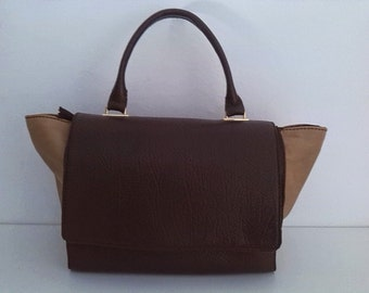 Two-tone tote bag. 35% discount with code REBAJAS15
