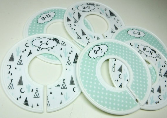 baby boys closet divides for organiziing space, n.-n. to 24 month (6 pcs) tipi