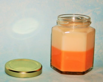 6 oz Hexagon Soy Container Candle