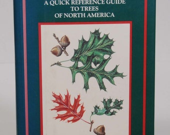 Trees, A Quick Reference Guide to Trees of North America, MacMilliam Field Guide, hardcover book, Robert H. Mohlenbrock, John W. Thieret