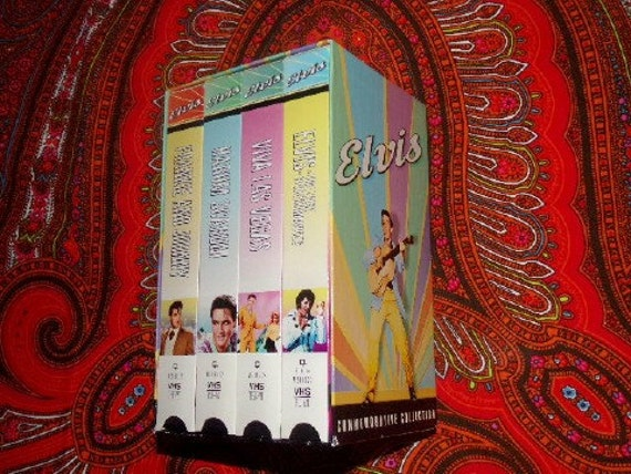 Elvis Presley Commemorative Collection VHS Pack by ...