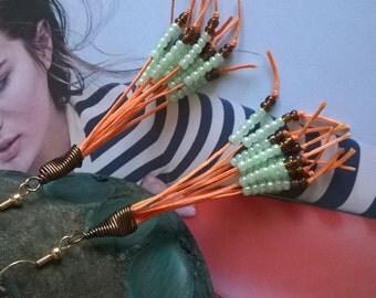 Ethnic modern earrings