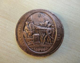 MONNERON COIN 1792