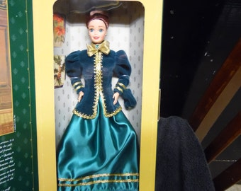 Barbie Hallmark Special Edition 12 Inch Doll Yuletide Romance vintage New in box