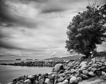 English Bay, Vancouver – Fine Art Photograph, Vancouver Art, Vancouver Photo, Ocean, Beach
