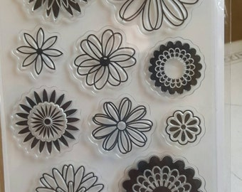 Sunshine Daisies Clear Stamp Set
