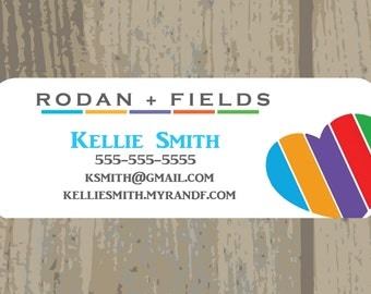 "Rodan + Fields Sticker Address Labels, Printed Stickers, 1"" x 2.625"", 30 per page"