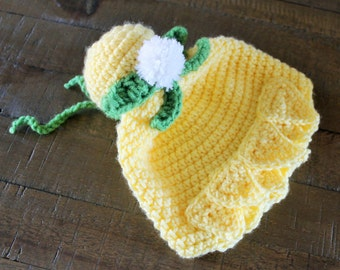 Tinkerbell Hat - Handmade to Order - Newborn to Adult